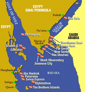 Sharm El - Sheikh is situated